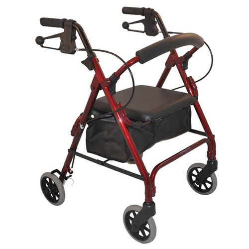Auscare Seat Walker Low Seat 6 Quot Wheels Wheelchairs