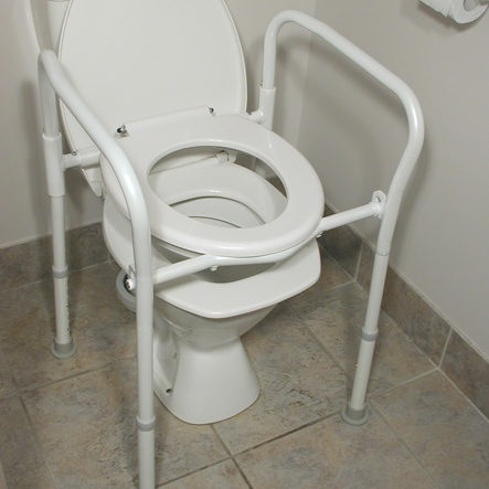Auscare Folding Over Toilet Aid Wheelchairs Amp Stuff